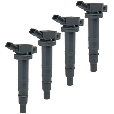 (4)NEW Ignition Coil For Toyota Hilux HiAce Innova 1TR-FE 2TR-FE 90919-02260