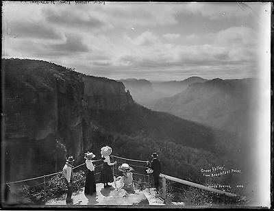 Framed photograph of the Grose Valley c.1900: 594 x 841mm (23.4 x 33)