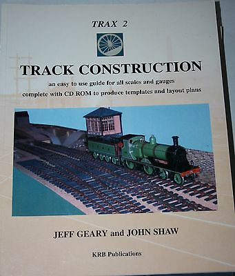 Trax 2 Track Construction Easy Guide To All Scales + Cd Rom Vgc