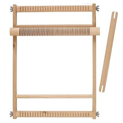 Weaving Loom Natural Small, Large Wooden Crafts Arts Weave Wood Heddle Compact