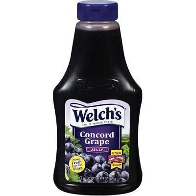Welch's Grape Jelly Large 20oz 567g Squeezable WELCHS Jelly Amerian Jam