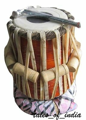 Tabla ~ Neem Wood Dayan ~ Hand Crafted ~ Great Sound ~ Indian Hand Made Puddis