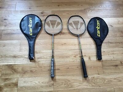 Carlton Enhance 60 Badminton Racket X 2