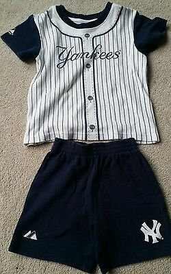 kids ny yankees outfit 2-3 years
