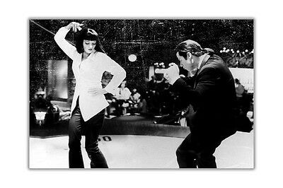 Pulp Fiction Dance Off Wall Poster Prints Room Decoration Film Pictures