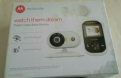 Motorola Digital Video Baby Monitor, Watch Them Dream, Colour New Boxed