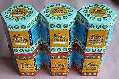 30G LARGE Jars of TIGER BALM, Relief of rheumatism muscle pain insect bites