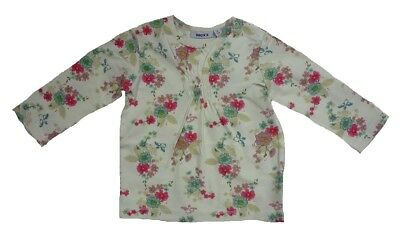 MEXX long sleeve Girls Baby Shirt snow white sz. 68