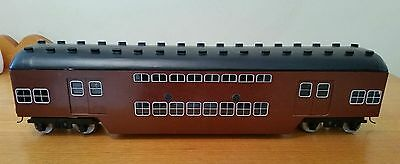 G scale (1/32) NSWGR double deck tulloch trailer car (the red rattlers )