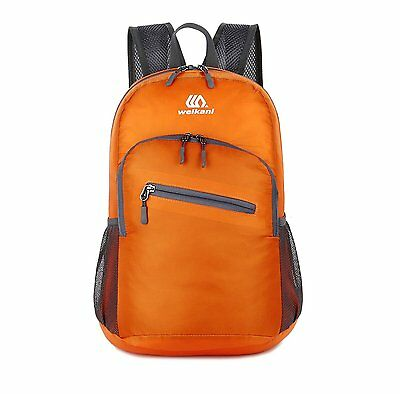 Packable Daypack,18L Lightweight foldable Backpack bag for men and women outdoor