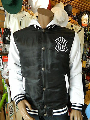 Majestic MLB New York Yankees Authentic Hoodie UK Mens Size Med/Lrg