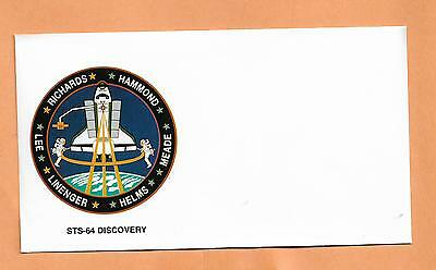 Space Shuttle Discovery Sts-64 No Cancel  Ksc ***