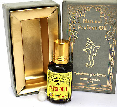 Patchouli oil 10ml new sealed uk seller scent fragrance hippie boho Pagan India