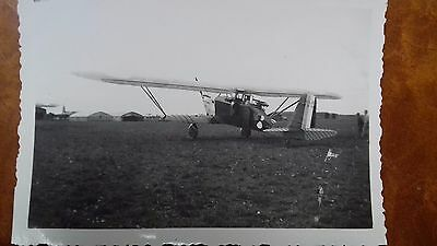 Vintage Photo Aviation Armee De L'air Breguet 270 Avec Insigne