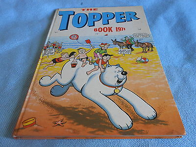 Vintage UK Annual - THE TOPPER BOOK - 1971