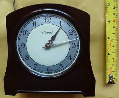 Vintage Smiths Bakelite Electric Clock In Working Condition - But Not Alarm