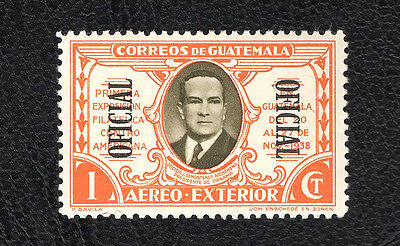 Stamp Guatemala (1938) Official Overprint