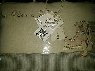 mamas and papas once upon a time bumper set boys bnwt