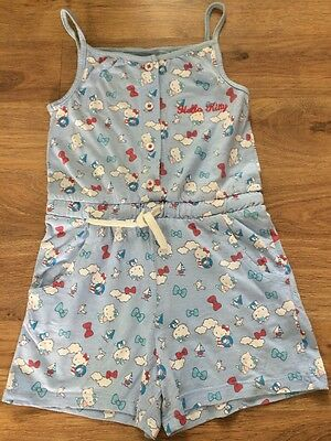 Gorgeous girls age 5/6 Years Hello Kitty playsuit By M&S