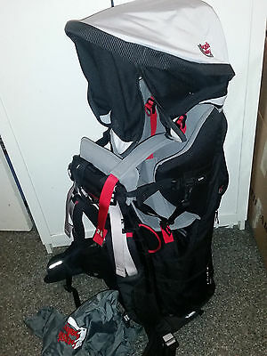 Bush Baby elite baby carrier backpack Excellent condition