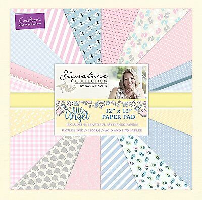 "Little Angel 12"" * 12"" Paper Pad - Crafter's Companion Sara Signature Collection"