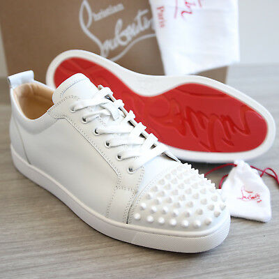 e31f195f617 AUTH BNIB CHRISTIAN Louboutin Junior Spikes Sneakers Shoes Size 43   Us 10