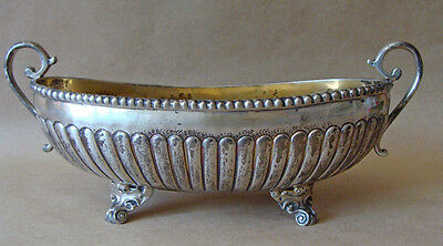 Antique   900 Silver Bowl w Handles  ...  216 grams
