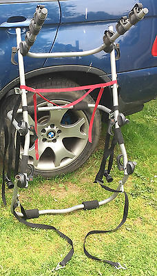 Halfords 3 Cycle / Bike Carrier Car Rear Mounting