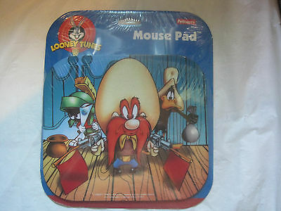 Looney Tunes Yosemite Sam Mouse Pad~Daffy Duck Marvin Martian~New~LBDAO