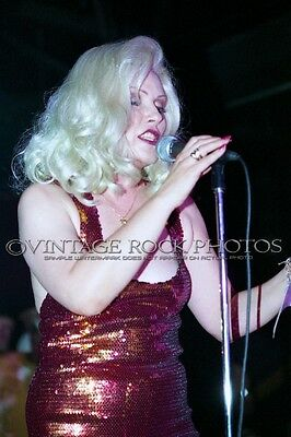 Deborah Harry Blondie Photo 8x12 or 8x10 in '80s Live Concert Pro Fuji Print 30