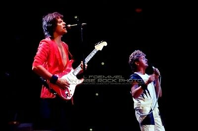 Yes Photo Anderson, Rabin 8x12 or 8x10 in '80s Live Concert Pro Fuji Print LF17