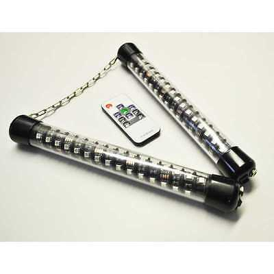 LED NUNCHAKU - Ignis - remote control, rechaerchable, various colors and modes