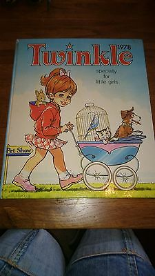 Twinkle annual 1978 Great Condition retro/vintage