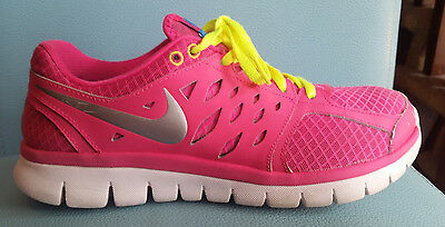 Nike Flex 2013 Run Women's Running Workout Shoes Pink Size 10