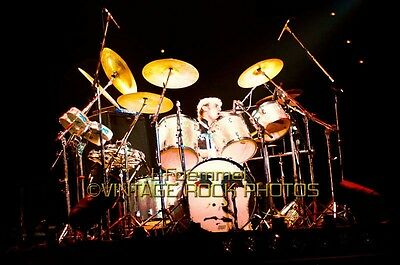 Roger Taylor Queen Photo 8x12 or 8x10 in '79 Live Concert from 35mm Negative L51