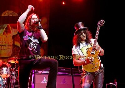 Slash, Myles Kennedy Photo 8x12 or 8x10  July '11 O2 Apollo UK LIve Concert s40