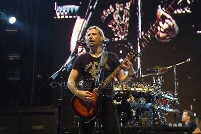 Chad Kroeger Nickelback Photo 8x12 or 8x10 inch 2007 Live Concert Toronto ON 10