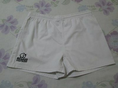 Rhino Pure Rugby shorts size L white colour