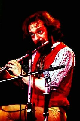 Jethro Tull Ian Anderson Photo 8x12 or 8x10 inch Live '70s Live Concert Print 31