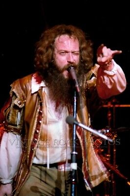 Jethro Tull Ian Anderson Photo 8x12 or 8x10 inch Live '70s Live Concert Print 57