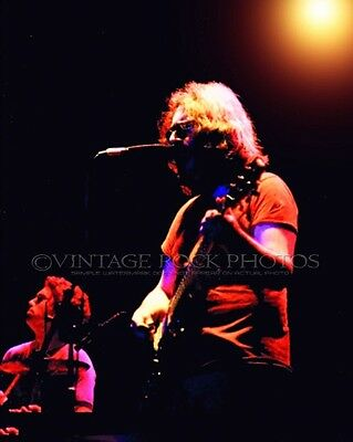 Jerry Garcia Grateful Dead Photo 8x10 inch '70s Live Concert Pro Fuji Print 78
