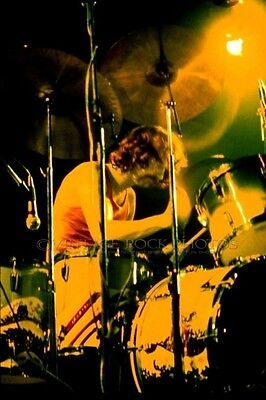 Nick Mason Pink Floyd Photo 8x10 or 8x12 inch Live 1975 Wish You Were Here 75