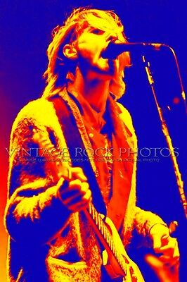Kurt Cobain Nirvana Poster 40x60 in Photo Live '90s Concert Ltd Ed Art Design 5A