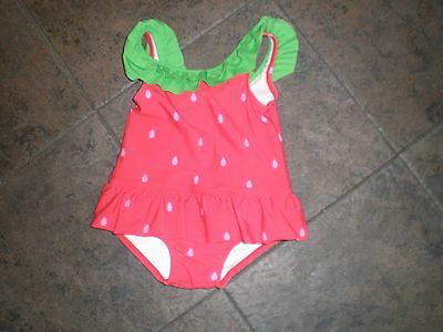 Gymboree Watermelon One-Piece Swimsuit 18-24M