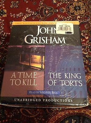 John Grisham's A Time to Kill & The King of Torts, Unabridged Audio Books 23CD's