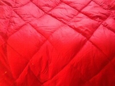 small vintage French Quilt, Filled With Himalaya Down