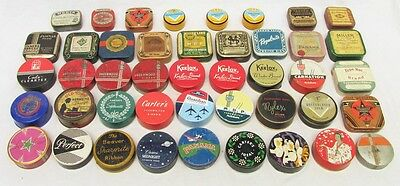 Big Lot of 40+ Vintage Typewriter Ribbon Tins. Add to Your Collection!