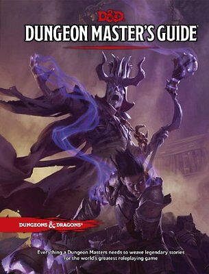 D & D dungeon and drageons next 5th edition dungeon master's guide Wizards RPG