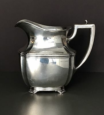 Antique MERMOD JACCARD & KING Sterling SILVER WATER PITCHER 5 Pint Whiting NYC