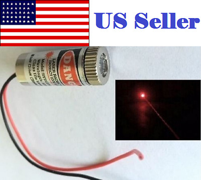 Adjustable Red 5mW 650nm Dot Laser Module Focus Laser Head